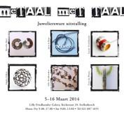 Metaal met Taal uitstalling-exhibition